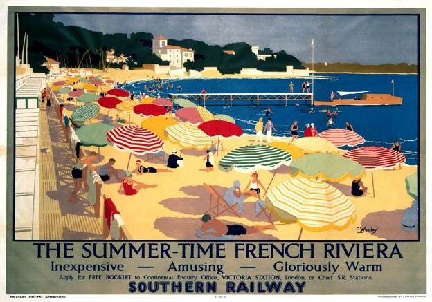 The-French-Riviera-vintage-travel-posters-1