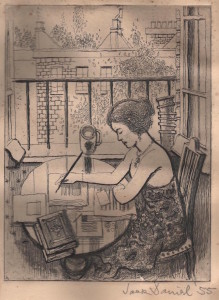 Grigson Jane etching 1955 001
