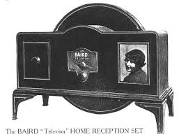 Baird TV set