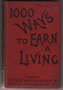 1,000 ways to earn a living cover 001