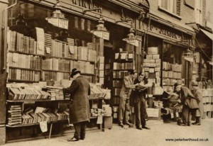 Charing cross road in the twenties