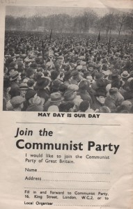 Communist Party leaflet 001
